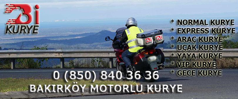 Bakırköy Motorlu Kurye